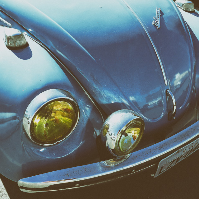 """The VW Beetle"" stock image"