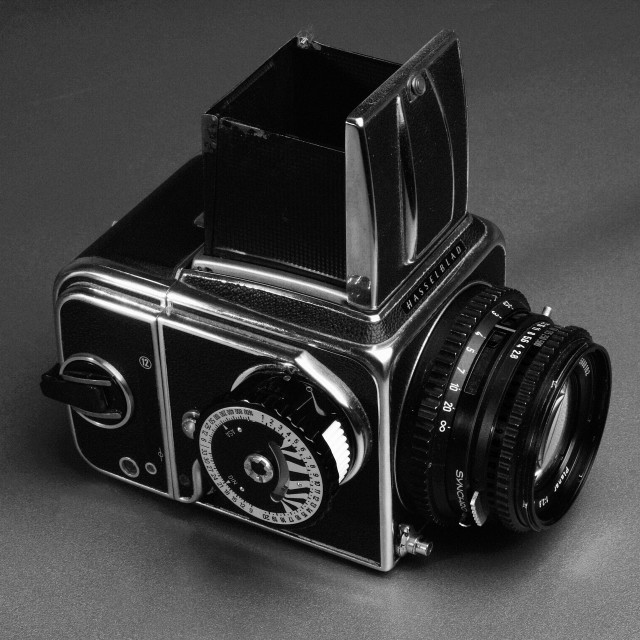 """Hasselblad medium format camera"" stock image"
