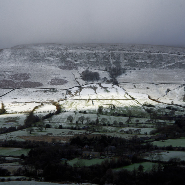 """sunny interval, Edale, Derbyshire, UK"" stock image"