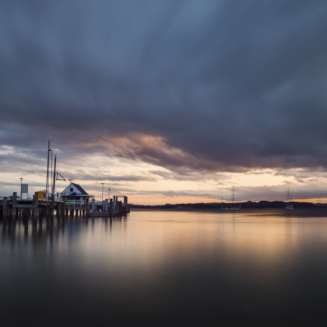 """""""Port Russell, Northland NZ"""" stock image"""