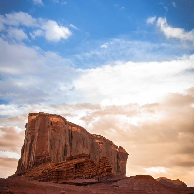 """Elefant Monument valley"" stock image"
