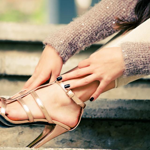 """high heels"" stock image"