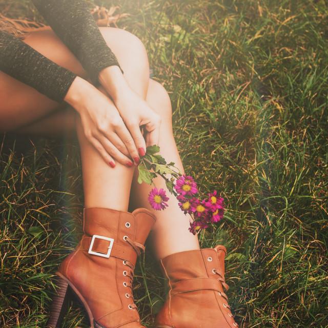 """autumn fashion details"" stock image"