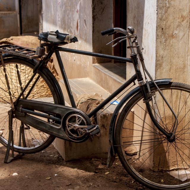 """Indian Bike"" stock image"