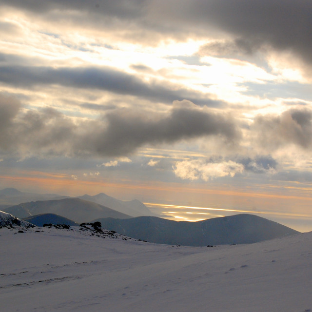 """Evening in Snowdonia"" stock image"