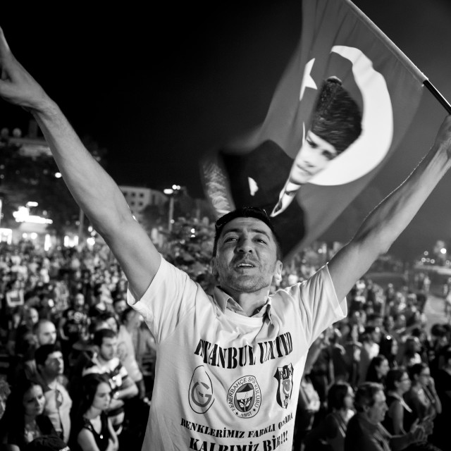 """Gezi Protests 2013"" stock image"