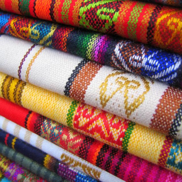 """""""Otavalo Market"""" stock image"""
