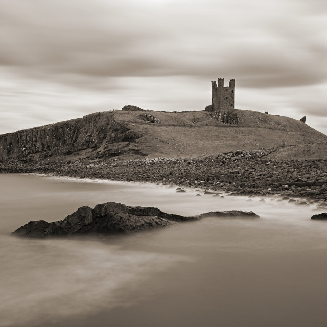 """Dunsborough Castle"" stock image"