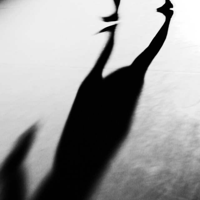 """shadows and dance 1"" stock image"