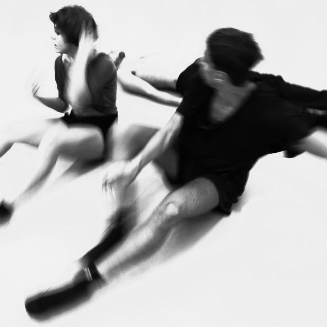 """dancers 1"" stock image"