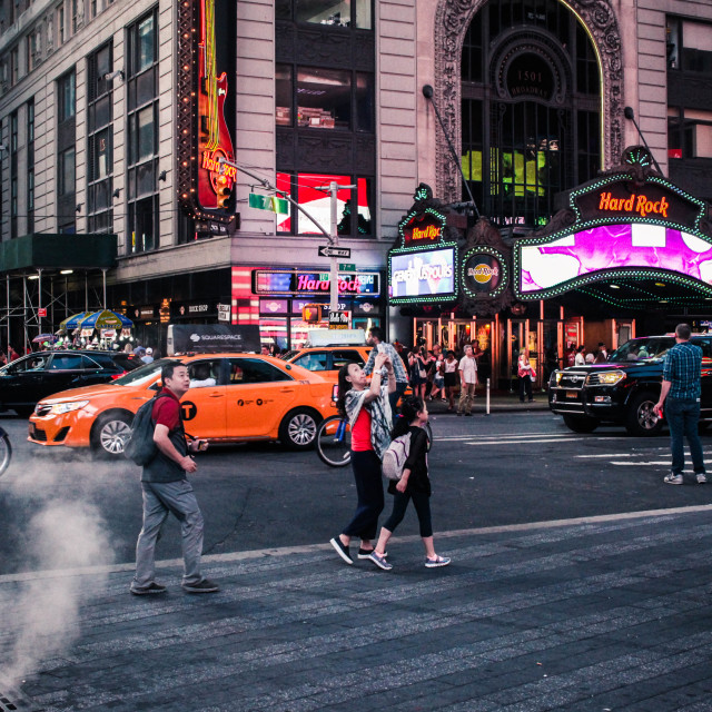 """Times Square"" stock image"