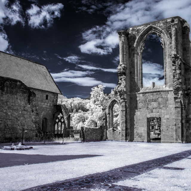 """Ghosts of the Abbey"" stock image"