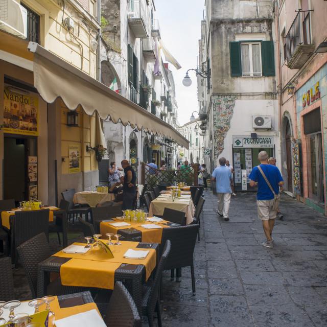 """""""little restaurant"""" stock image"""