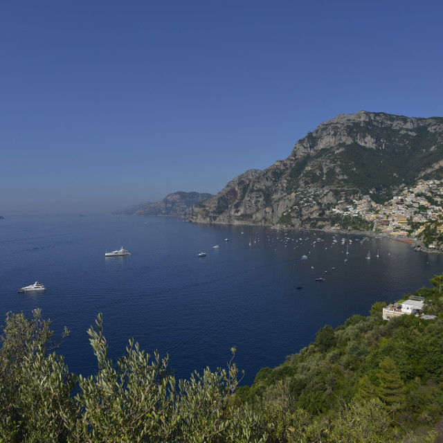 """Amalfitan coast"" stock image"