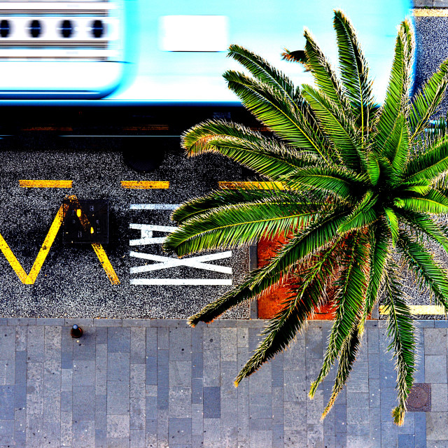 """Public transportation"" stock image"