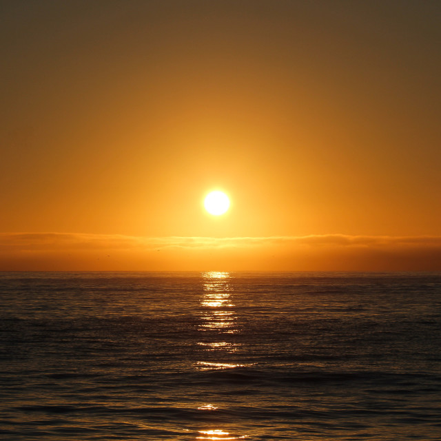 """Kaikoura Sunrise"" stock image"
