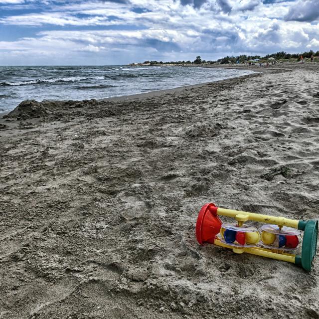 """""""Gioco di spiaggia"""" stock image"""