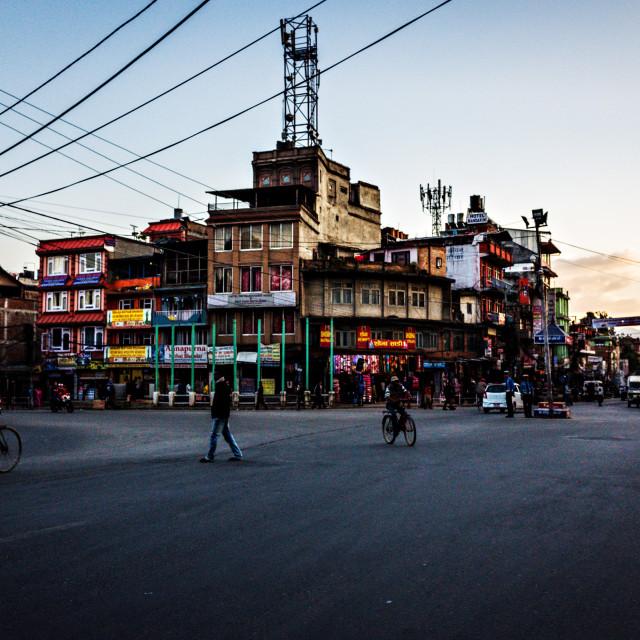 """""""Gaushala, Kathmandu"""" stock image"""
