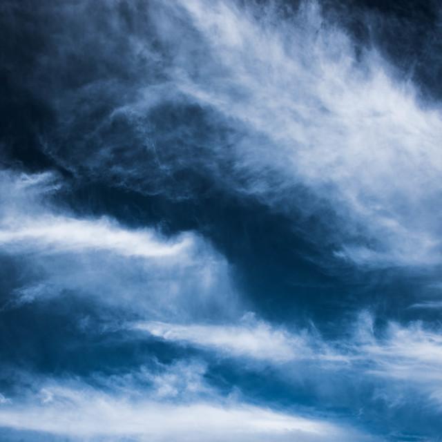 """Altostratus clouds"" stock image"