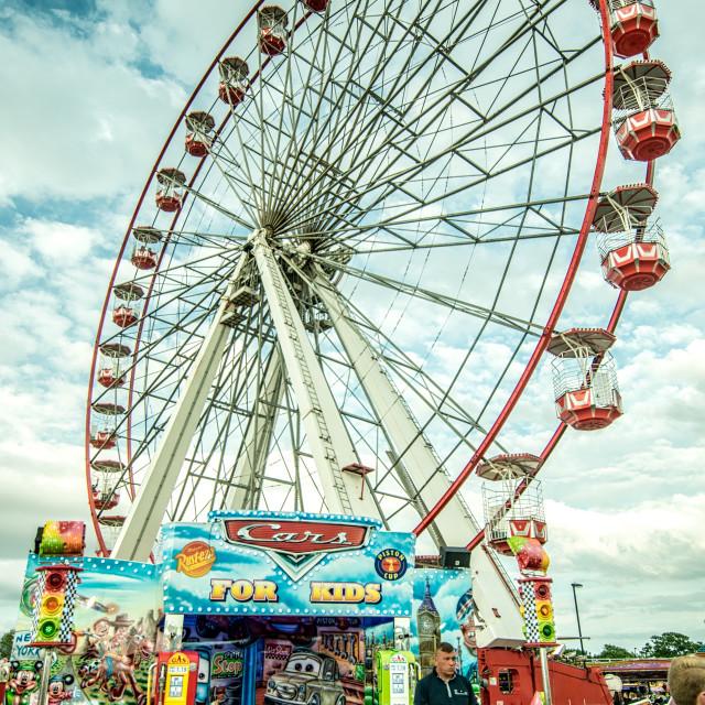 """""""Big wheel"""" stock image"""