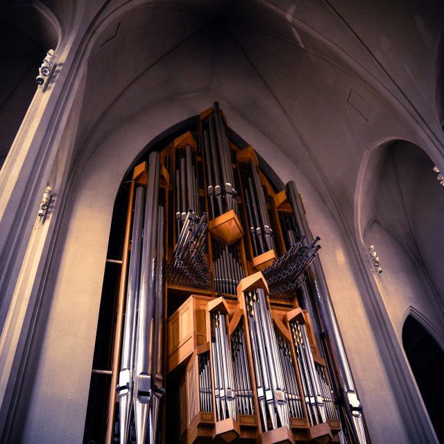 """Church Organ"" stock image"