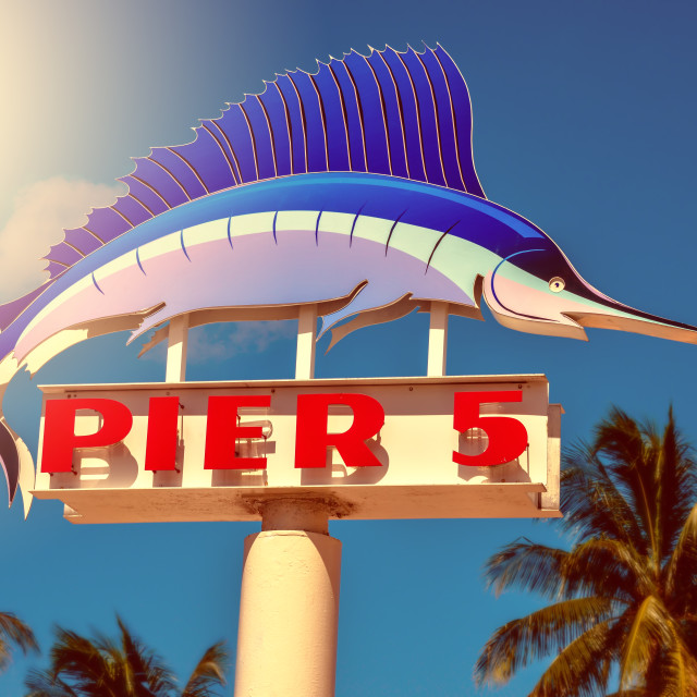 """Pier 5"" stock image"