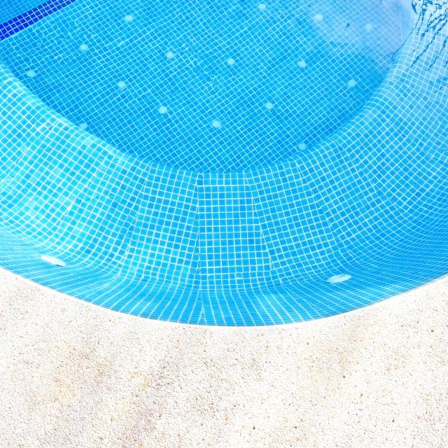 """Swimming pool background"" stock image"