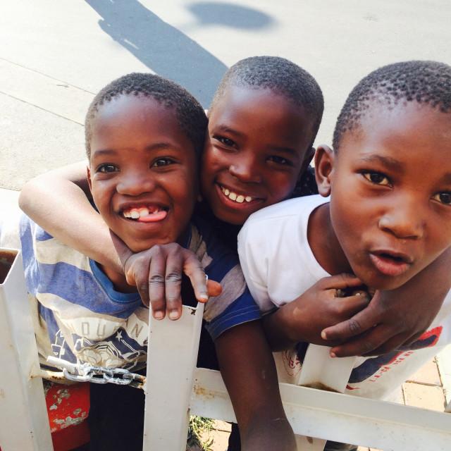 """Soweto kids"" stock image"