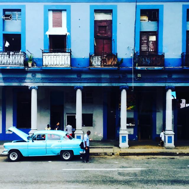 """""""Cuba breakdown"""" stock image"""