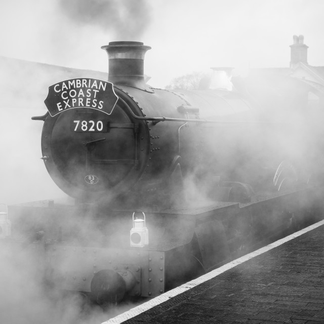 """Smoke & Steam"" stock image"