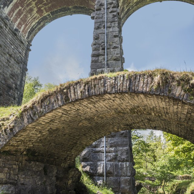 """Yorkshire Dales Dent Head Viaduct"" stock image"