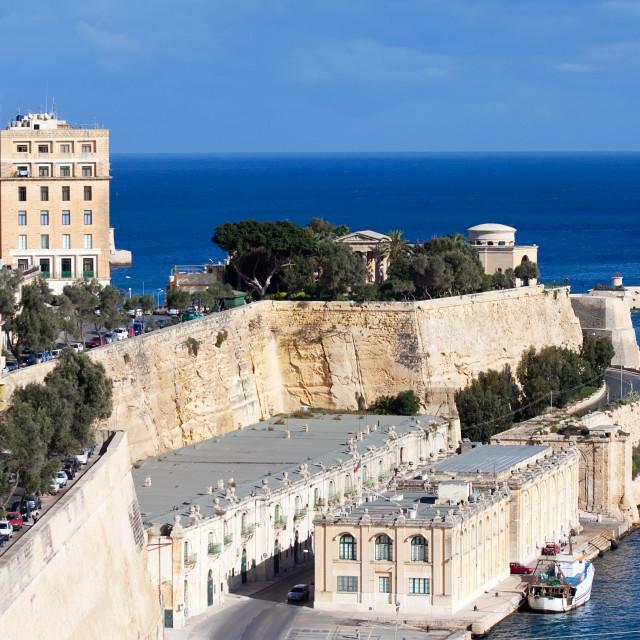 """""""Valletta"""" stock image"""