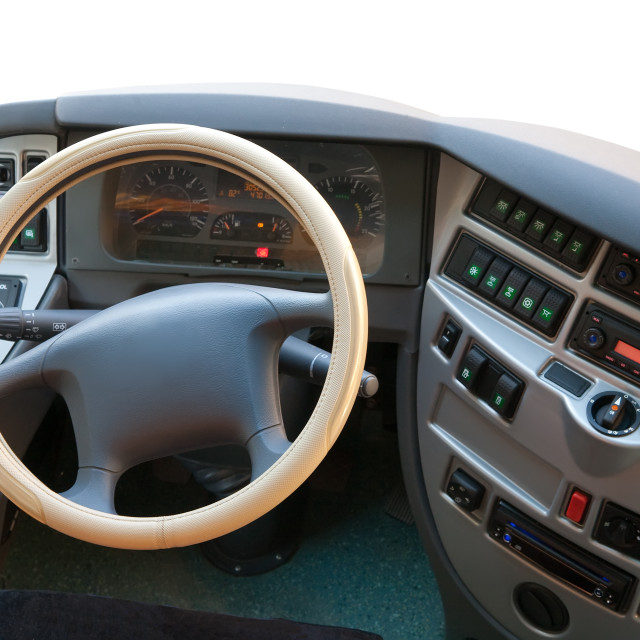 """bus dashboard"" stock image"