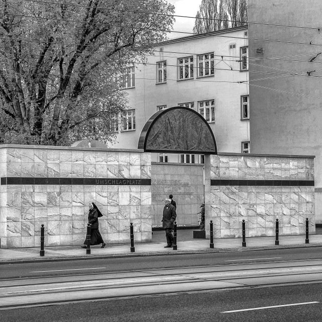 """Umschlagplatz"" stock image"