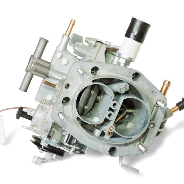 """New carburetor"" stock image"