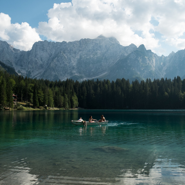 """Paradise lake"" stock image"