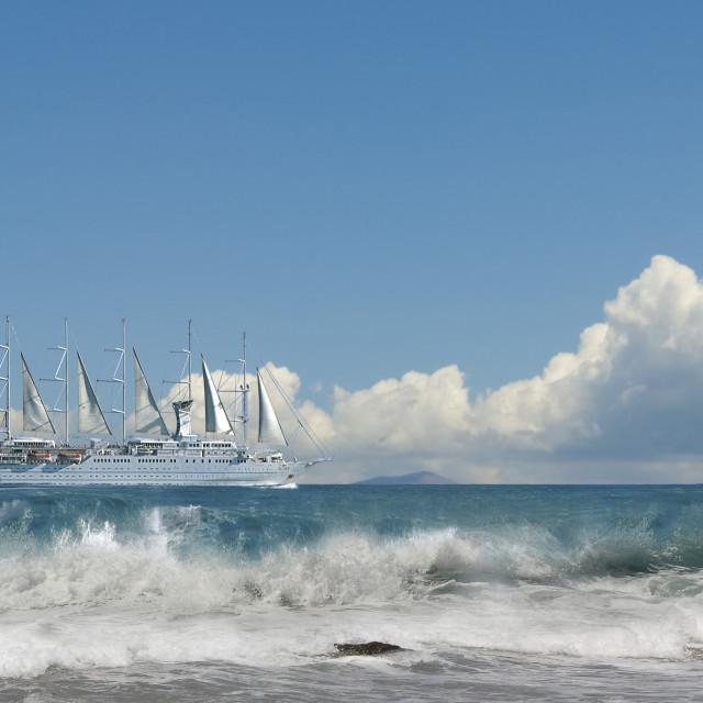 """Sails"" stock image"