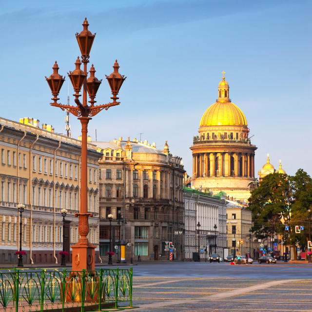 """Views of St.Petersburg. Saint Isaac's Cathedral"" stock image"