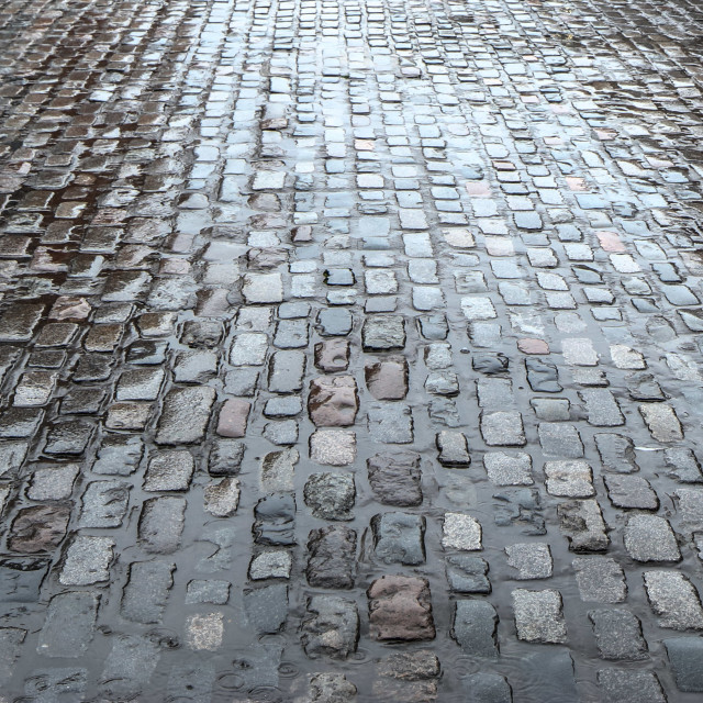 """""""Cobbles of Covent Garden"""" stock image"""