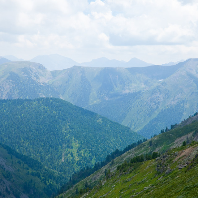 """Simple mountains landscape"" stock image"