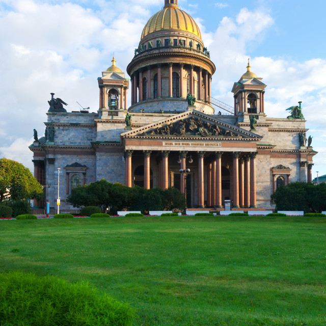 """Saint Isaac's Cathedral"" stock image"