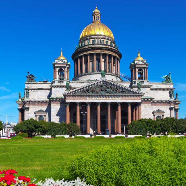 """Saint Isaac's Cathedral"" stock image"