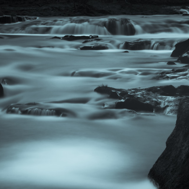 """Abstract river flow"" stock image"