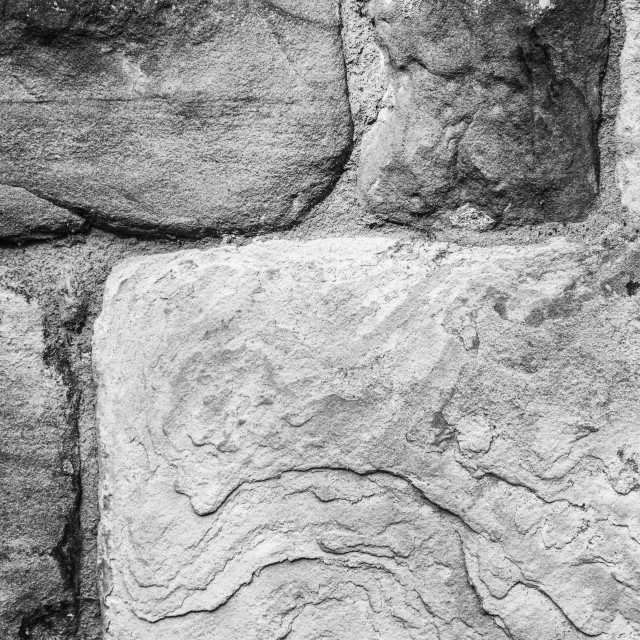 """""""Textured stone wall"""" stock image"""