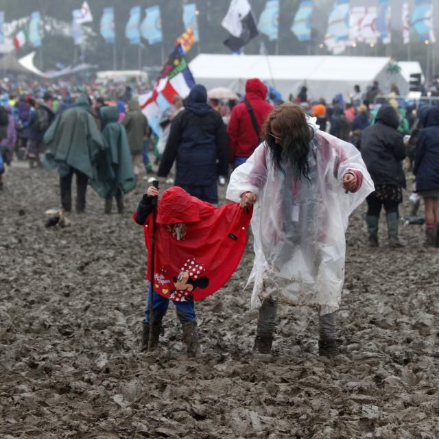 """Glastonbury Mud"" stock image"