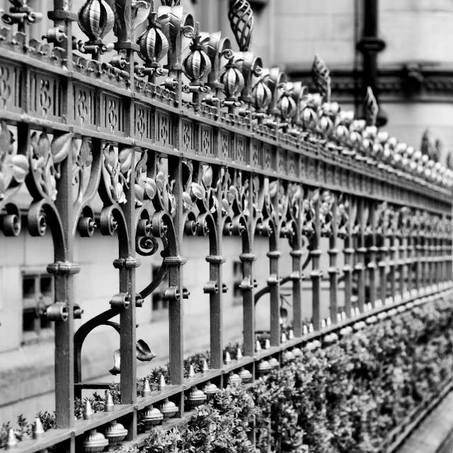"""""""railings"""" stock image"""