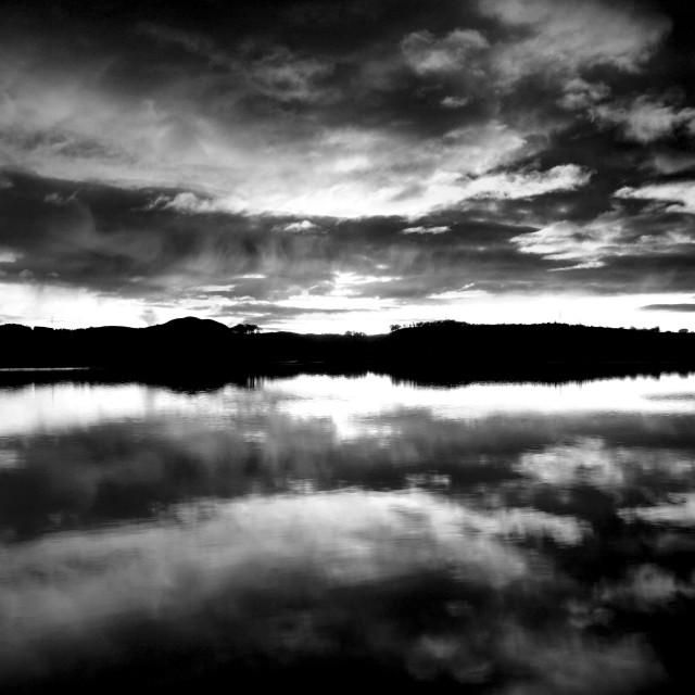 """Balgray Reservoir"" stock image"