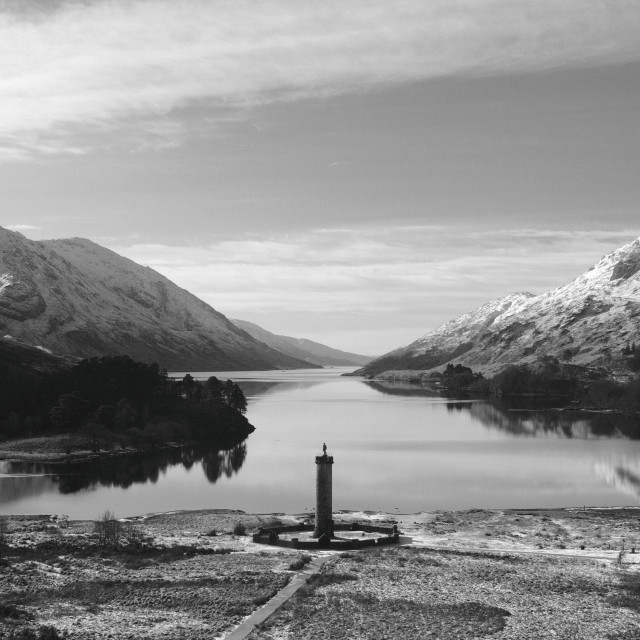 """Glenfinnan Monument"" stock image"