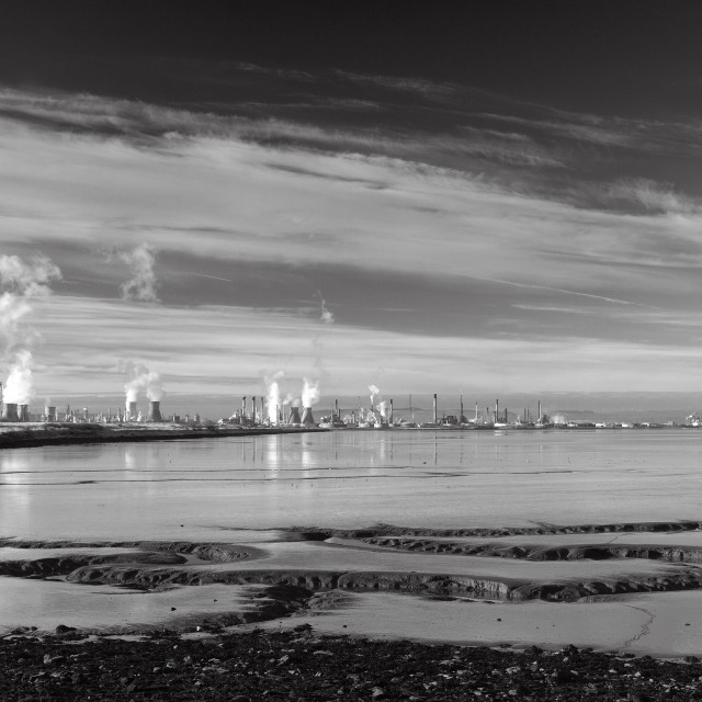 """Grangemouth"" stock image"
