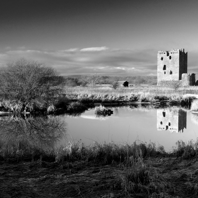 """""""Threave Castle"""" stock image"""